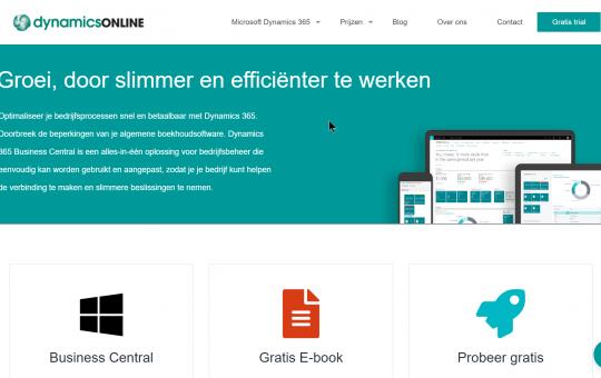 website DynamicsOnline