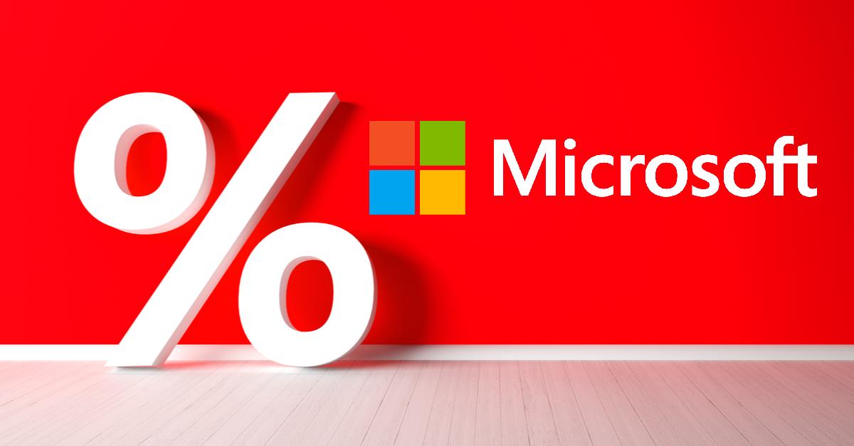 kortingsactie Microsoft licenties