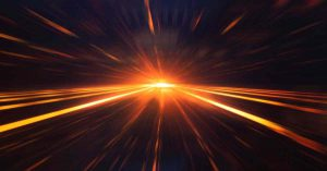 Business Cnetral groei met lichtsnelheid