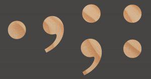 punten en komma's