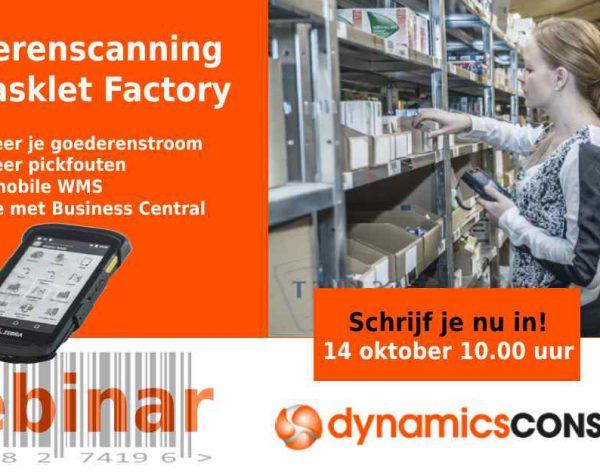 webinar Business Central Tasklet Factory
